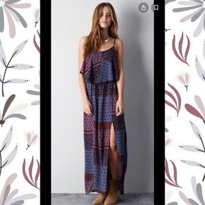 American Eagle Tiered Maxi Dress
